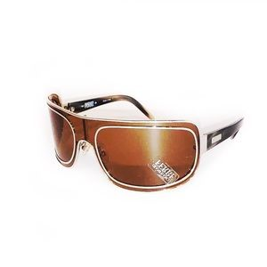 Gianfranco Ferre Wrap Around Over Sized Sunglasses